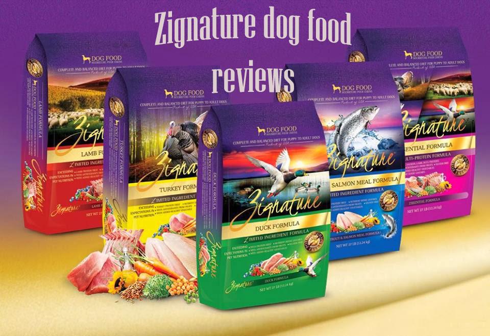 Zignature dog food reviews