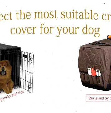 Best dog crate covers reviewed by hmtip.com